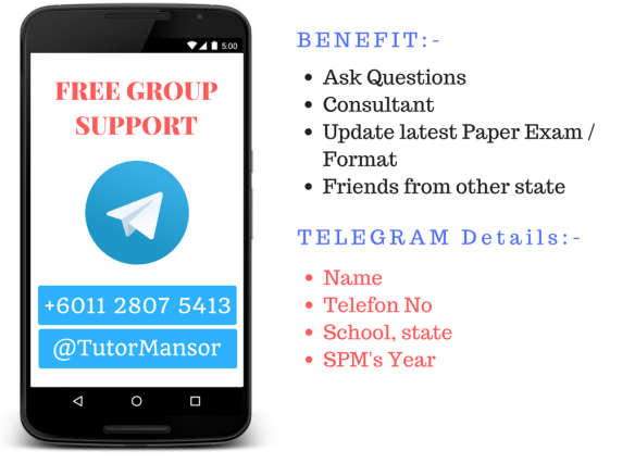 Telegram Tutor Mansor